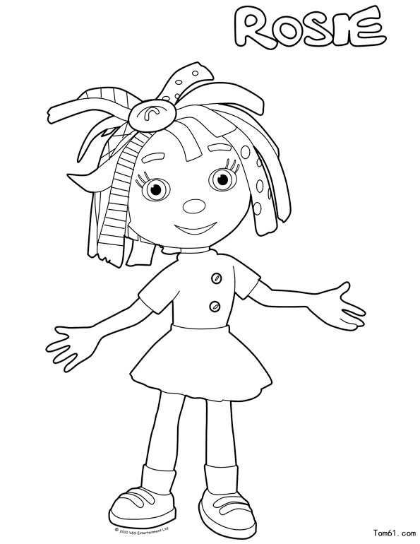 everything coloring pages - everythings rosie colouring pages