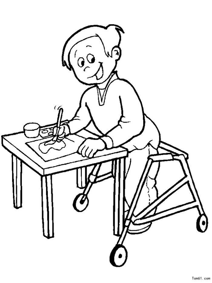 special friends coloring pages - photo#26