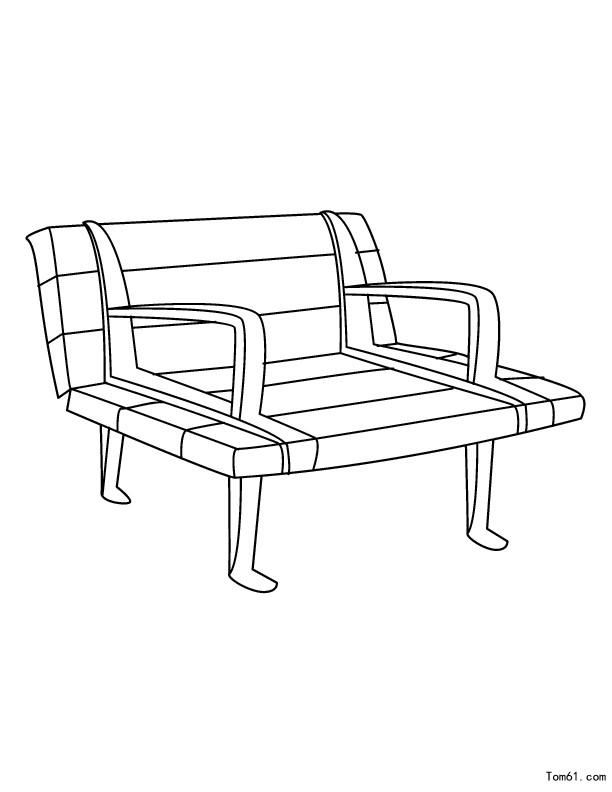 椅子图片_简笔画图片_少儿图库