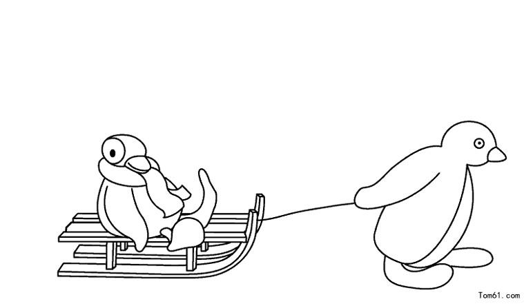 企鹅图片_简笔画图片_少儿图库