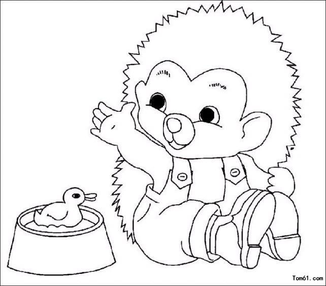 刺猬图片_简笔画图片_少儿图库_中国儿童资源网