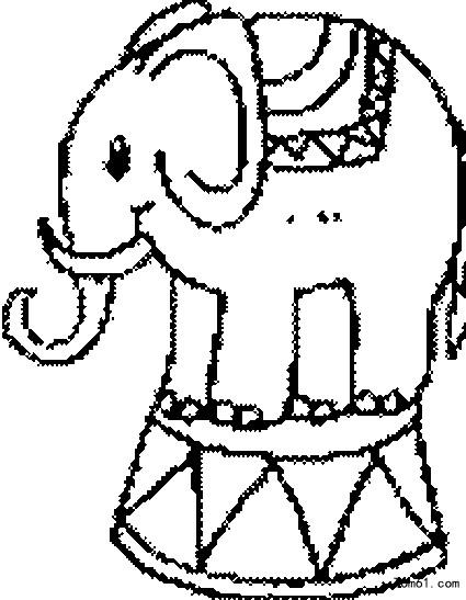 动物职业拟人简笔画