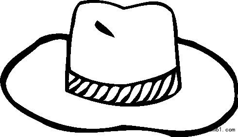 帽子图片_简笔画图片_少儿图库