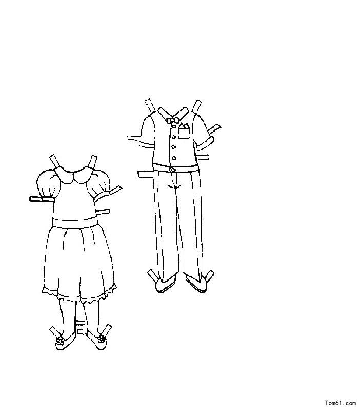 衣服2图片_简笔画图片