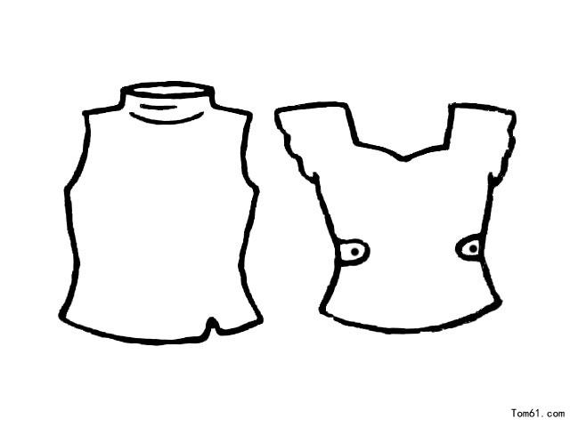 衣服3图片_简笔画图片