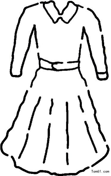 裙子图片_简笔画图片_少儿图库