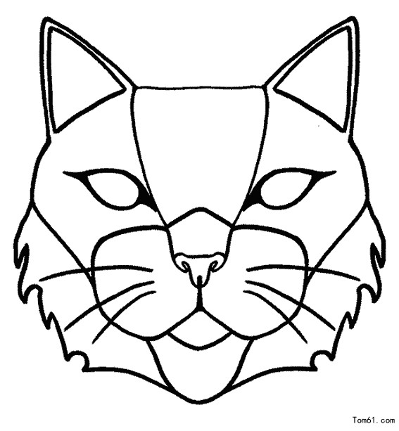 - Chat coloriage masque ...