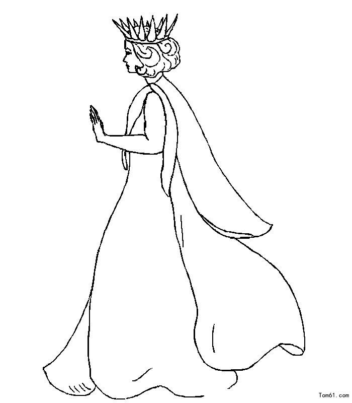 皇冠手绘图片儿童画