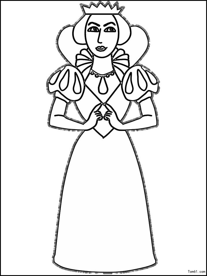 女王皇冠简笔画