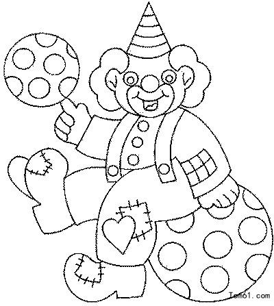 小丑3图片_简笔画图片