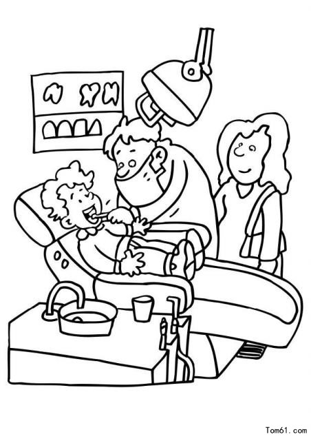 orthodontic coloring pages - photo#21
