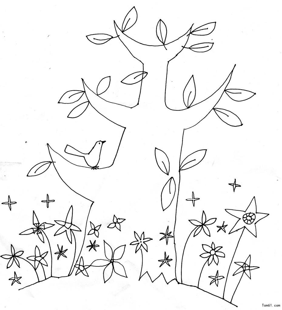 树木简笔画图片 小学生树木简笔画图片 简笔画树木垂柳图片 树木简笔画 树木简笔画图片大全 树木简笔画图片 花草树木简