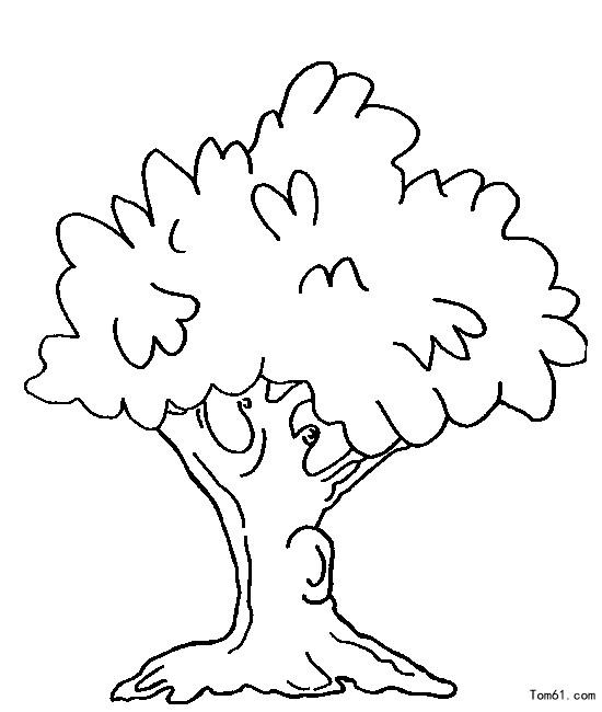 树木图片_简笔画图片_少儿图库_中国儿童资源网