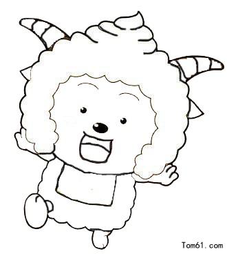 喜羊羊与灰太狼素描图片_喜羊羊与灰太狼素描图片图片